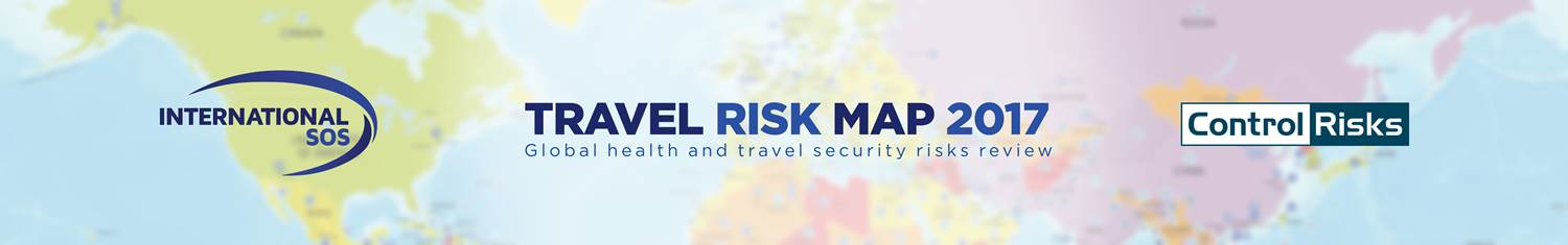 Travel Risk Map 2017