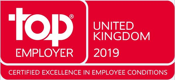 International SOS Recognised as a Top Employer UK 2019